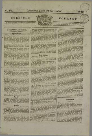 Goessche Courant 1842-11-10