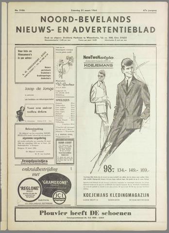 Noord-Bevelands Nieuws- en advertentieblad 1964-03-21