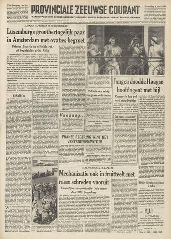 Provinciale Zeeuwse Courant 1956-06-06