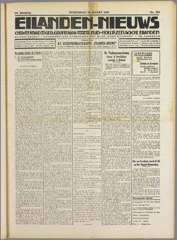 Eilanden-nieuws. Christelijk streekblad op gereformeerde grondslag 1938-03-30