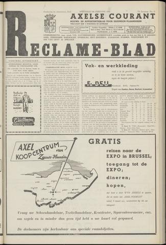 Axelsche Courant 1958-02-26