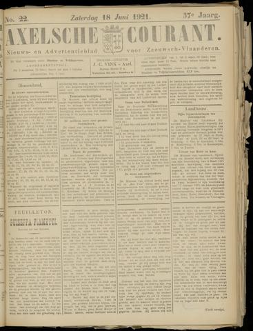 Axelsche Courant 1921-06-18