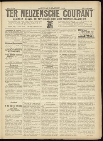 Ter Neuzensche Courant. Algemeen Nieuws- en Advertentieblad voor Zeeuwsch-Vlaanderen / Neuzensche Courant ... (idem) / (Algemeen) nieuws en advertentieblad voor Zeeuwsch-Vlaanderen 1940-11-06