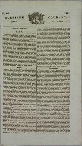 Goessche Courant 1839-10-11