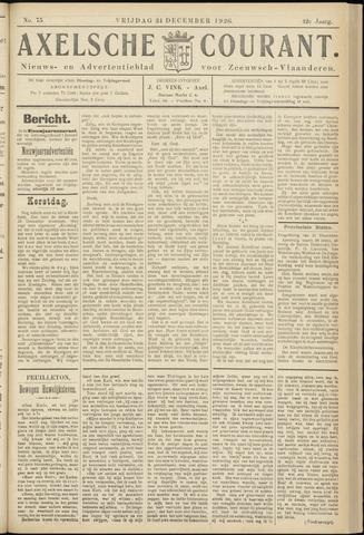 Axelsche Courant 1926-12-24