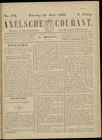 Axelsche Courant 1888-03-10