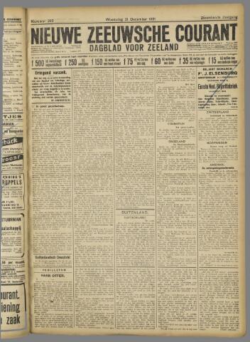 Nieuwe Zeeuwsche Courant 1921-12-21