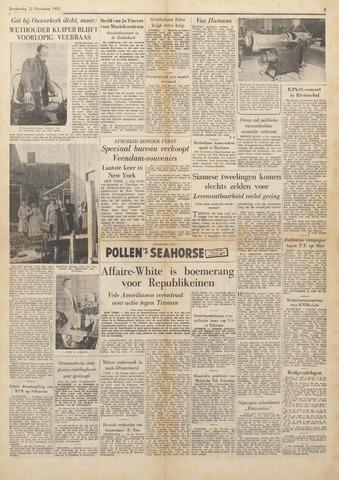 Watersnood documentatie 1953 - kranten 1953-11-12