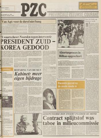 Provinciale Zeeuwse Courant 1979-10-27