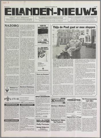 Eilanden-nieuws. Christelijk streekblad op gereformeerde grondslag 1995-11-17