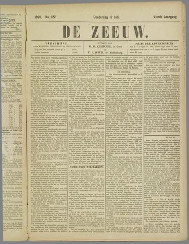 De Zeeuw. Christelijk-historisch nieuwsblad voor Zeeland 1890-07-17