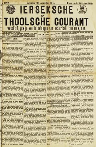 Ierseksche en Thoolsche Courant 1915-08-28