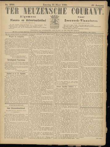 Ter Neuzensche Courant. Algemeen Nieuws- en Advertentieblad voor Zeeuwsch-Vlaanderen / Neuzensche Courant ... (idem) / (Algemeen) nieuws en advertentieblad voor Zeeuwsch-Vlaanderen 1900-03-31