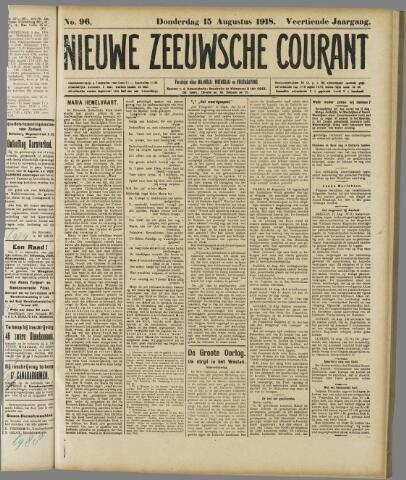 Nieuwe Zeeuwsche Courant 1918-08-15