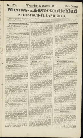 Ter Neuzensche Courant. Algemeen Nieuws- en Advertentieblad voor Zeeuwsch-Vlaanderen / Neuzensche Courant ... (idem) / (Algemeen) nieuws en advertentieblad voor Zeeuwsch-Vlaanderen 1861-03-27