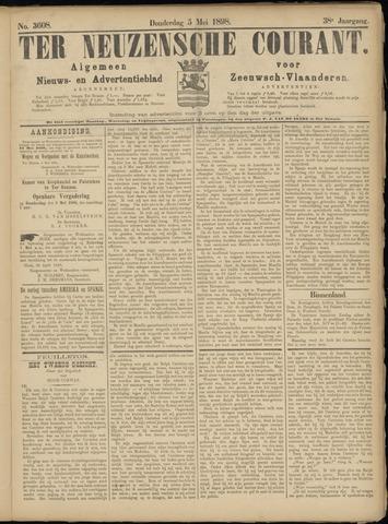 Ter Neuzensche Courant. Algemeen Nieuws- en Advertentieblad voor Zeeuwsch-Vlaanderen / Neuzensche Courant ... (idem) / (Algemeen) nieuws en advertentieblad voor Zeeuwsch-Vlaanderen 1898-05-05