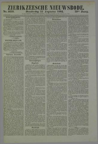 Zierikzeesche Nieuwsbode 1882-08-24