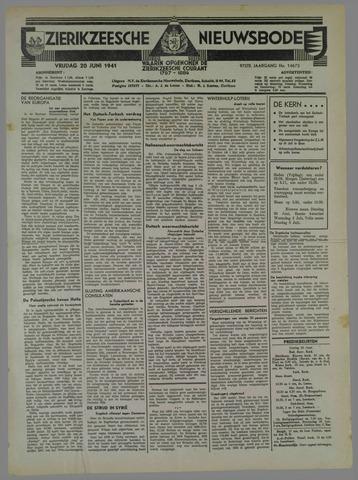 Zierikzeesche Nieuwsbode 1941-06-24