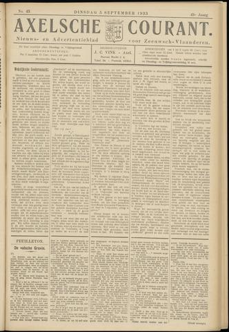 Axelsche Courant 1933-09-05