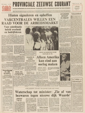 Provinciale Zeeuwse Courant 1967-09-29