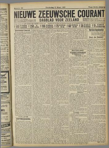 Nieuwe Zeeuwsche Courant 1923-03-15