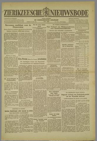 Zierikzeesche Nieuwsbode 1952-07-29