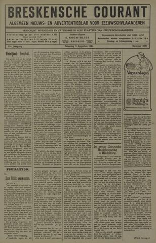 Breskensche Courant 1924-08-09
