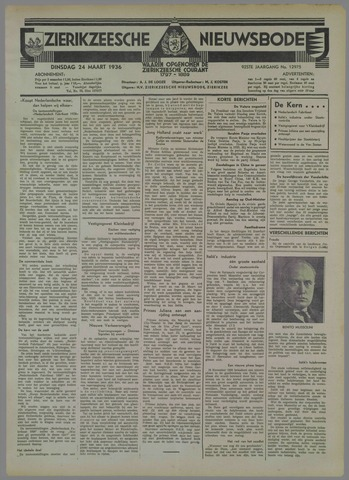 Zierikzeesche Nieuwsbode 1936-03-24