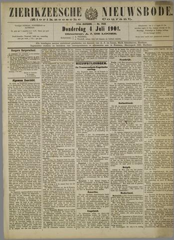Zierikzeesche Nieuwsbode 1901-07-04