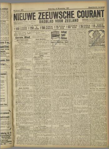 Nieuwe Zeeuwsche Courant 1921-11-19