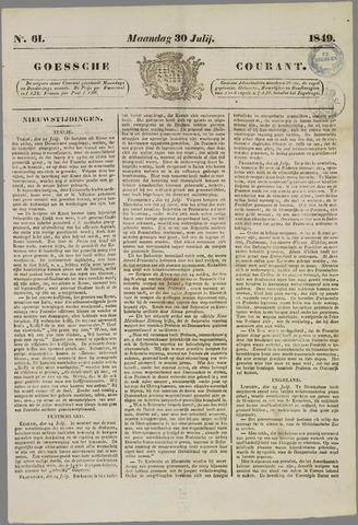 Goessche Courant 1849-07-30