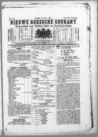 Nieuwe Goessche Courant 1877-07-17