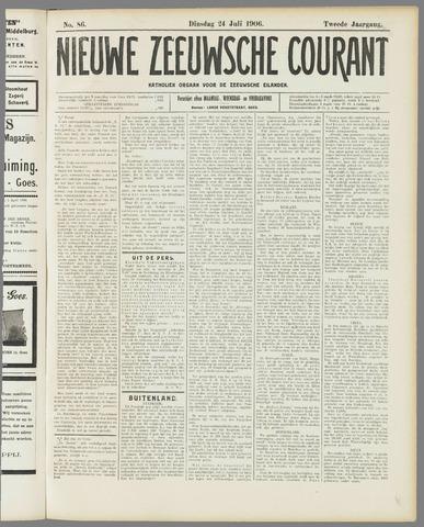 Nieuwe Zeeuwsche Courant 1906-07-24