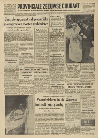 Provinciale Zeeuwse Courant 1958-04-11
