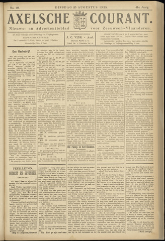 Axelsche Courant 1925-08-25