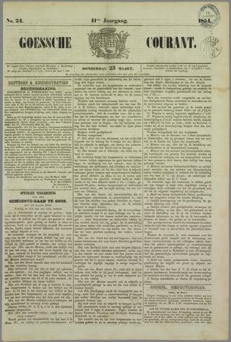 Goessche Courant 1854-03-23