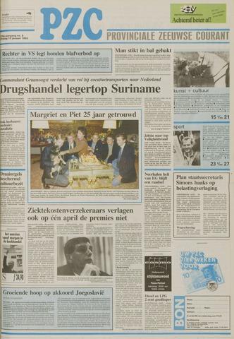 Provinciale Zeeuwse Courant 1992-01-10