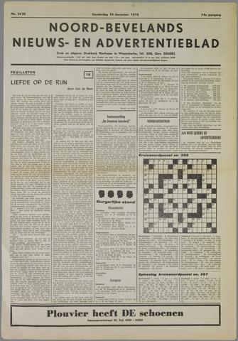 Noord-Bevelands Nieuws- en advertentieblad 1970-12-10