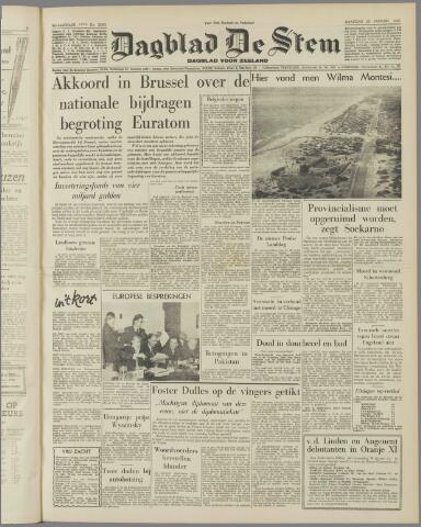 de Stem 1957-01-28