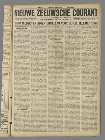 Nieuwe Zeeuwsche Courant 1924-04-24