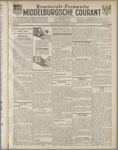 Middelburgsche Courant 1930-04-22