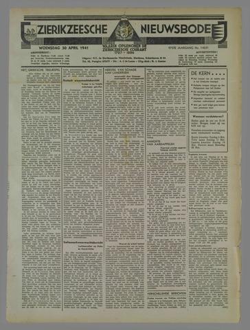 Zierikzeesche Nieuwsbode 1941-04-30
