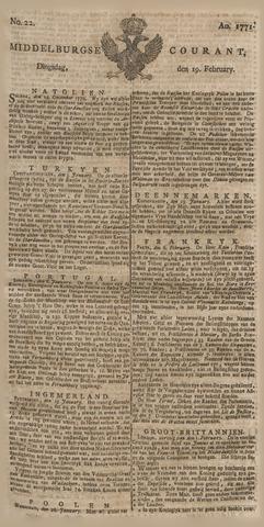 Middelburgsche Courant 1771-02-19