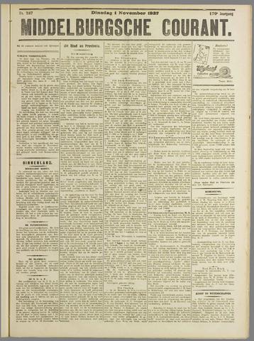 Middelburgsche Courant 1927-11-01