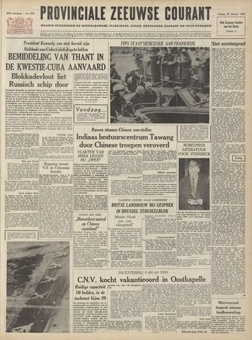 Provinciale Zeeuwse Courant 1962-10-26