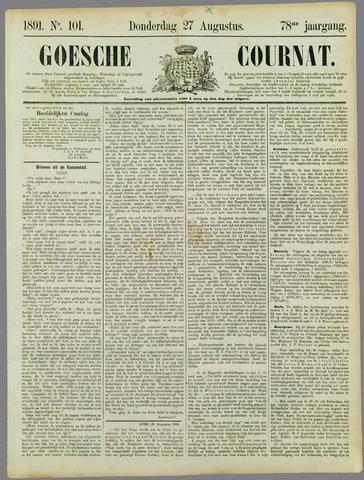 Goessche Courant 1891-08-27
