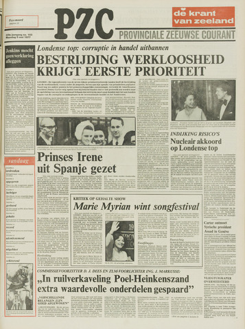 Provinciale Zeeuwse Courant 1977-05-09