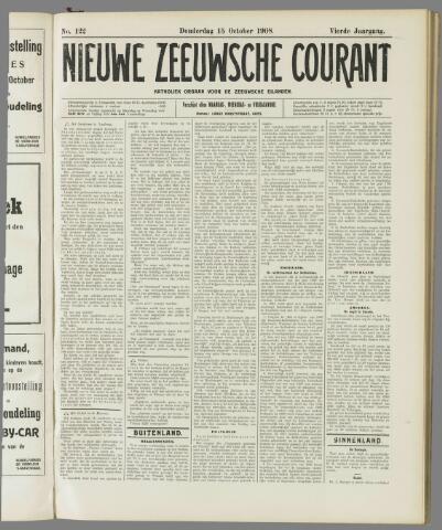 Nieuwe Zeeuwsche Courant 1908-10-15