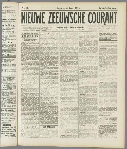 Nieuwe Zeeuwsche Courant 1911-03-25