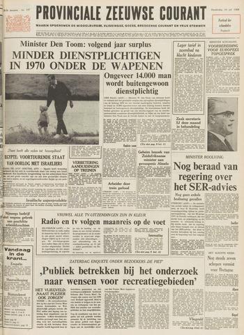 Provinciale Zeeuwse Courant 1969-07-10